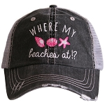 Where My Beaches At!?  Women's Trucker Hat