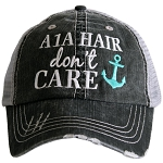 A1A Hair Don't Care.  Women's Trucker Hat
