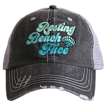 Resting Beach Face.  Women's Trucker Hat