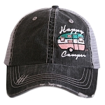 Happy Camper.  Women's Trucker Hat
