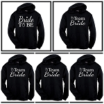 Bride To Be & Team Bride.  Matching Bridal Party Hoodies