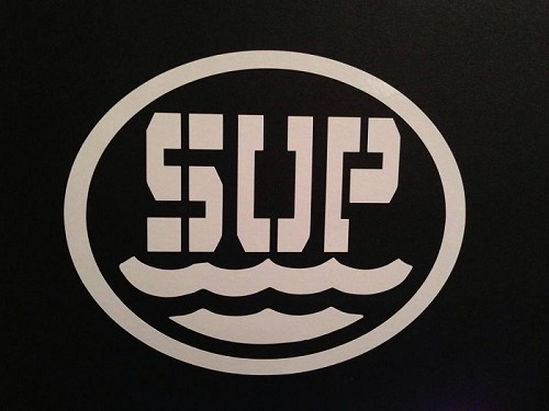 SUP.  Vinyl Decal