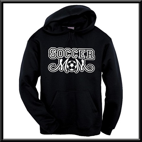 Soccer Mom Hoodie With Option To Personalize With Childs Name and Number