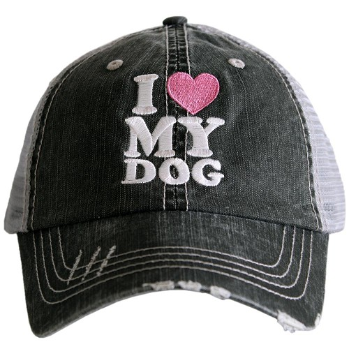 I Love My Dog.  Women's Trucker Hat