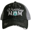 Wrestling Mom.  Women's Trucker Hat - Mint