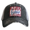 River Hair Don't Care.  Women's Trucker Hat - Red