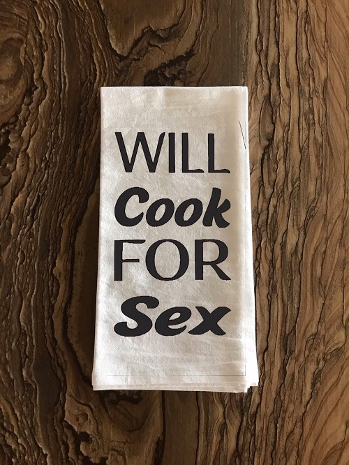Will Cook For Sex.  Apron