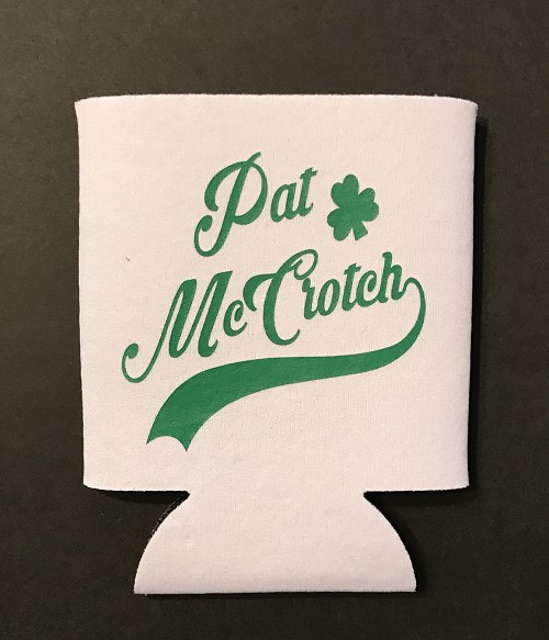 Pat McCrotch.  Collapsible Can Cooler / Coozie