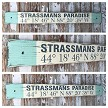 Custom GPS Coordinates Sign with Family Name.  Rustic 4 Foot Long Wood Sign