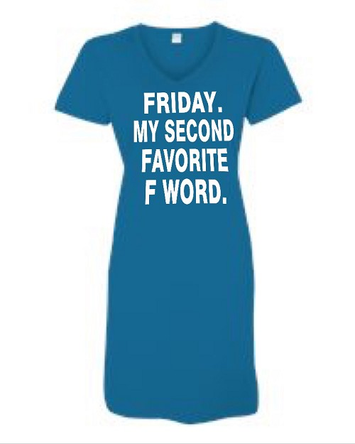 Friday.  My Second Favorite F Word.  V-Neck Swim Suit Cover Up