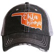 Oklahoma.  Women's Trucker Hat - Orange